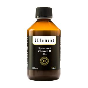 Vitamina C Liposomal con Zinc, 250 ml