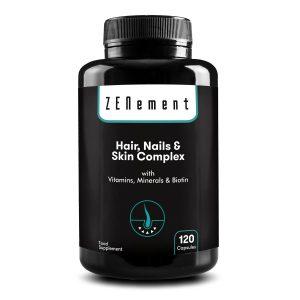 Complexe pour les cheveux, les ongles et la peau. avec Vitamines, Minéraux et Biotine - 120 Gélules