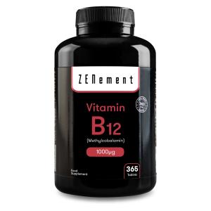 Vitamine B12 Méthylcobalamine 1000 µg - 365 Comprimés