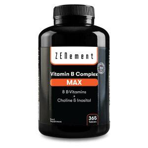 Complexe Vitamines B MAX - 365 Comprimés
