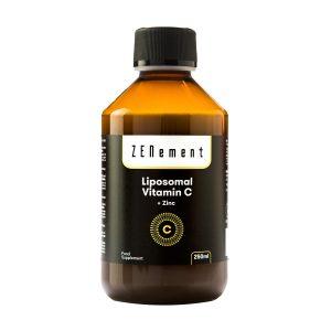 Vitamine C Liposomale avec du zinc, 250 ml
