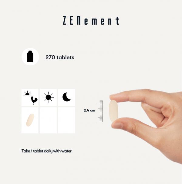 Vitamine C 1000 mg - 270 Comprimés