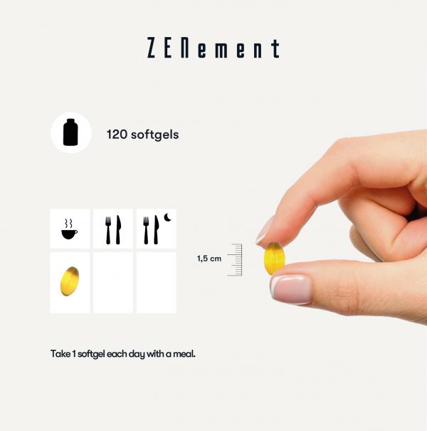 Complexe de Vitamine E Naturelle Gamme Complète - 120 Capsules