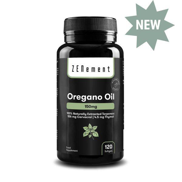 Huile d'Origan 150 mg - 120 Capsules