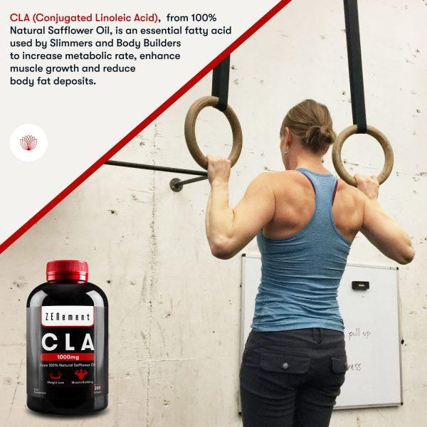 CLA 1000 mg - 200 Capsules