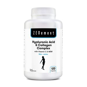 Hyaluronic Acid and Collagen Complex with Vitamin C & MSM, 60 Capsules