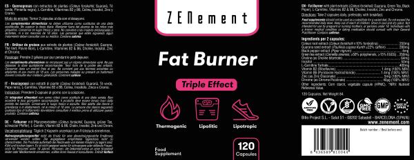 Fat Burner - 120 Capsules