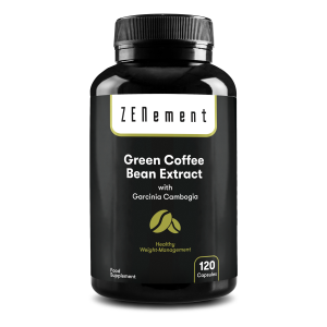 Green Coffee Bean Extract with Garcinia Cambogia - 90 Capsules