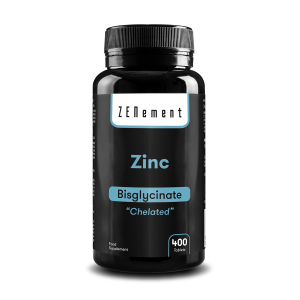 Zinc, 25mg (Bisglycinate), 400 Tablets | Chelated