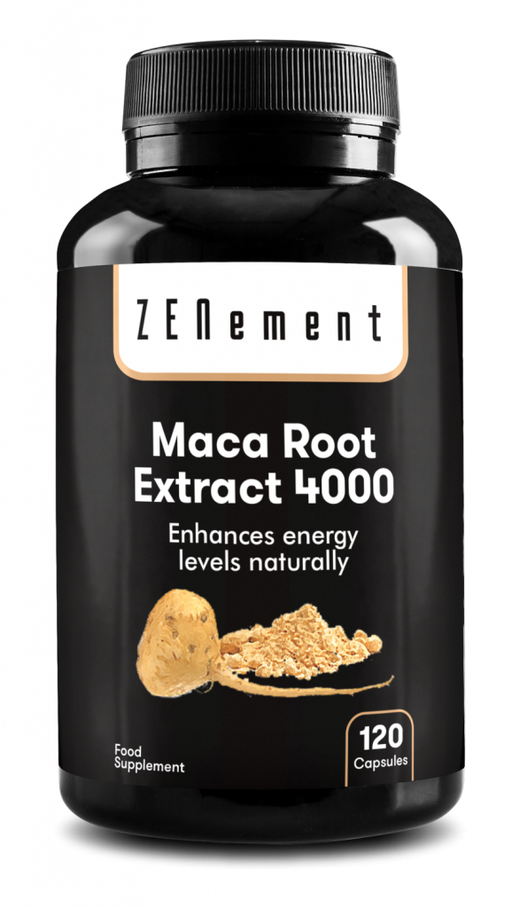 Maca Root Extract 4000mg Highly Concentrated - 120 Capsules