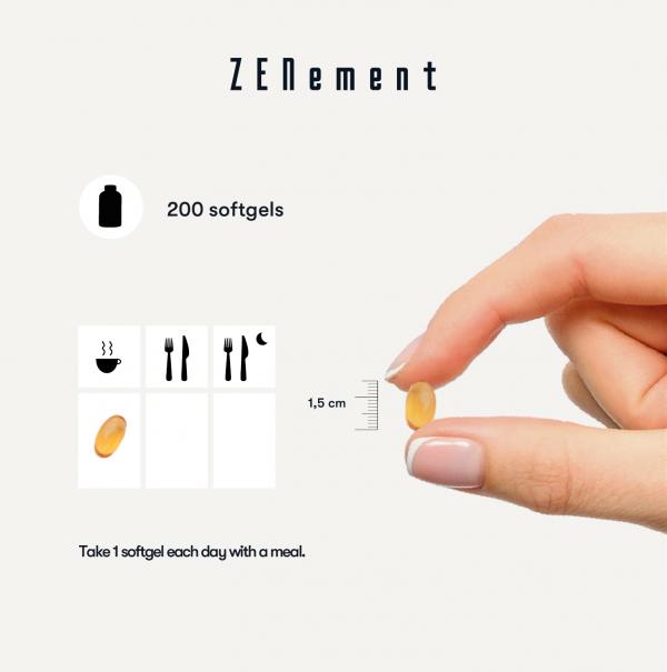 Natural Vitamin E - 400 IU (D-Alpha-Tocopherol) - 200 Softgels